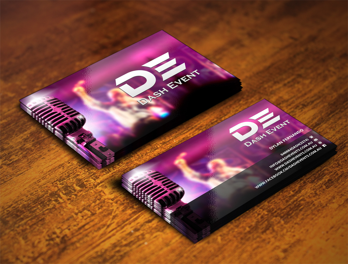 Professional Colorful Business Card Design For Creative