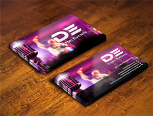 Business Card Design by INDIAN_Ashok - Dash Events Business Card