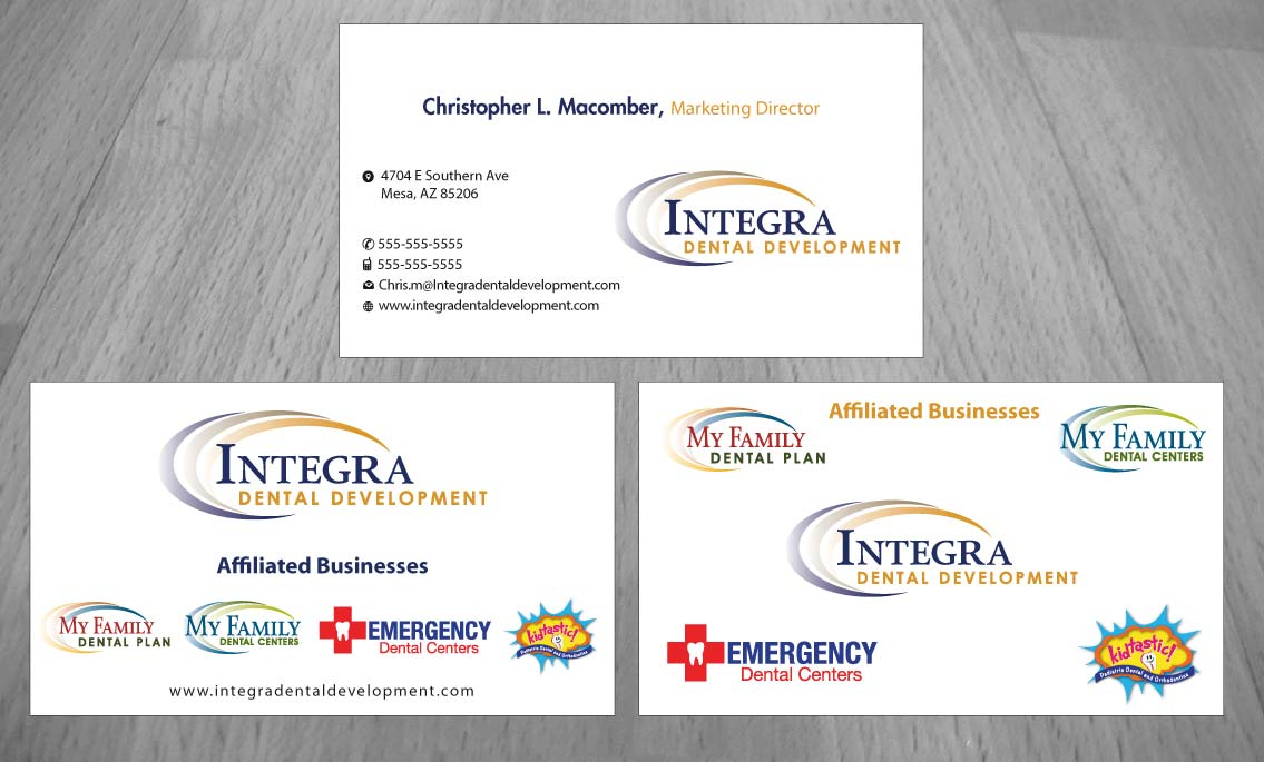 Serious, Traditional, Business Business Card Design for My Family ...