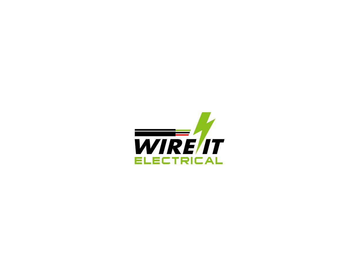 Elegant, Playful, Electrical Logo Design for WIRE IT ... on