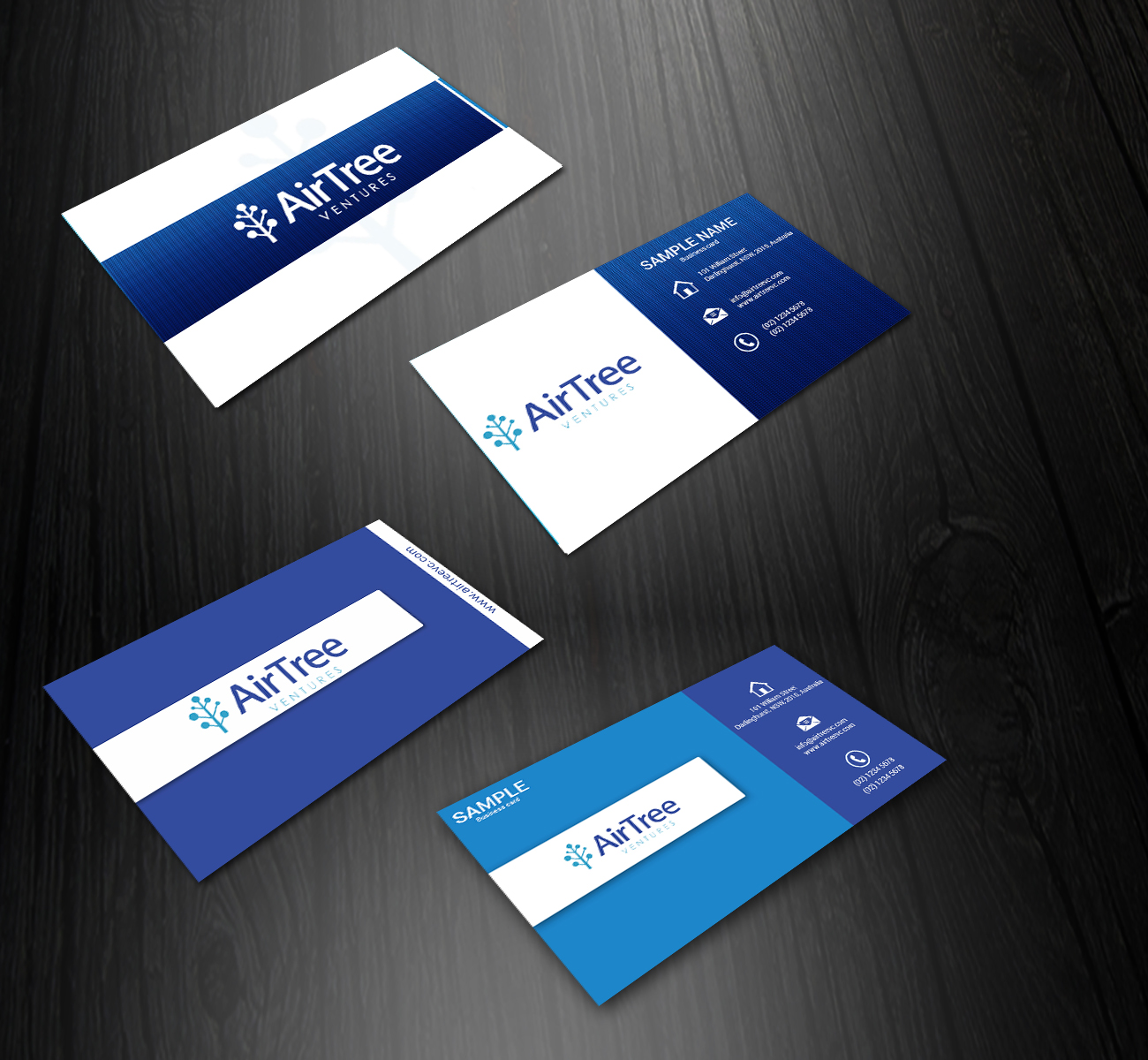 Elegant, Playful Business Card Design for Alex by Innvonix ...