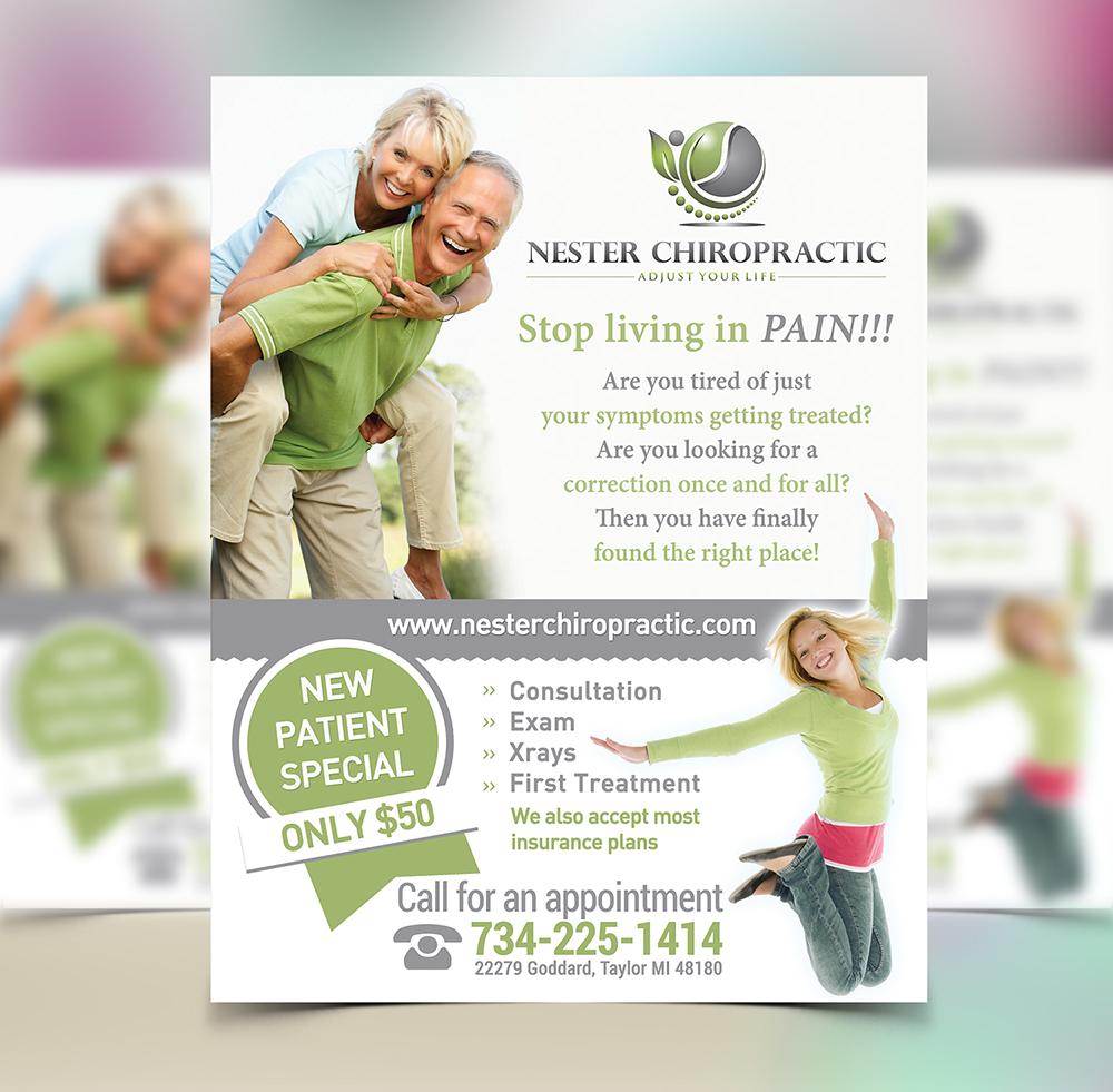 chiropractic flyer