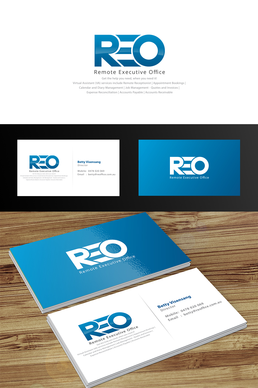 Modern, Professional, Business Business Card Design for Remote ...