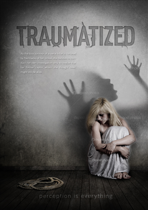 Poster Design by budie deathlust - TRAUMATIZED - One sheet film poster design