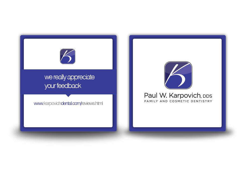 Design De Carte Visite Par Digital Mass Pour Paul Karpovich DDS