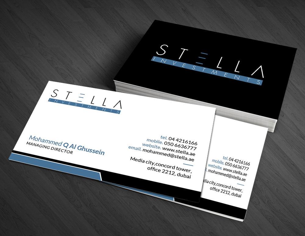 Modern masculine hospitality business card design for a company by business card design by artman for this project design 4760770 reheart Image collections