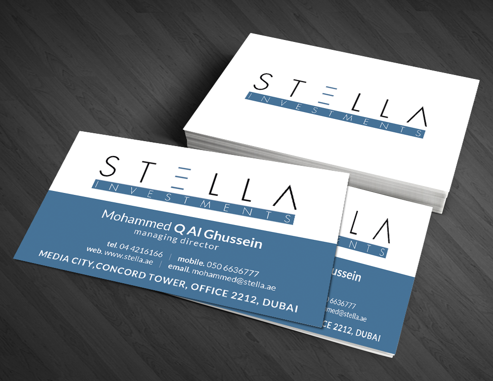 Modern masculine hospitality business card design for a company by business card design by artman for this project design 4760810 reheart Image collections