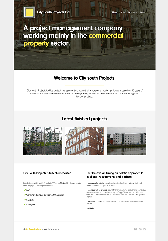 Serious Bold It Company Web Design For Yellowbus Solutions Ltd By Freshcreations Design 4758046