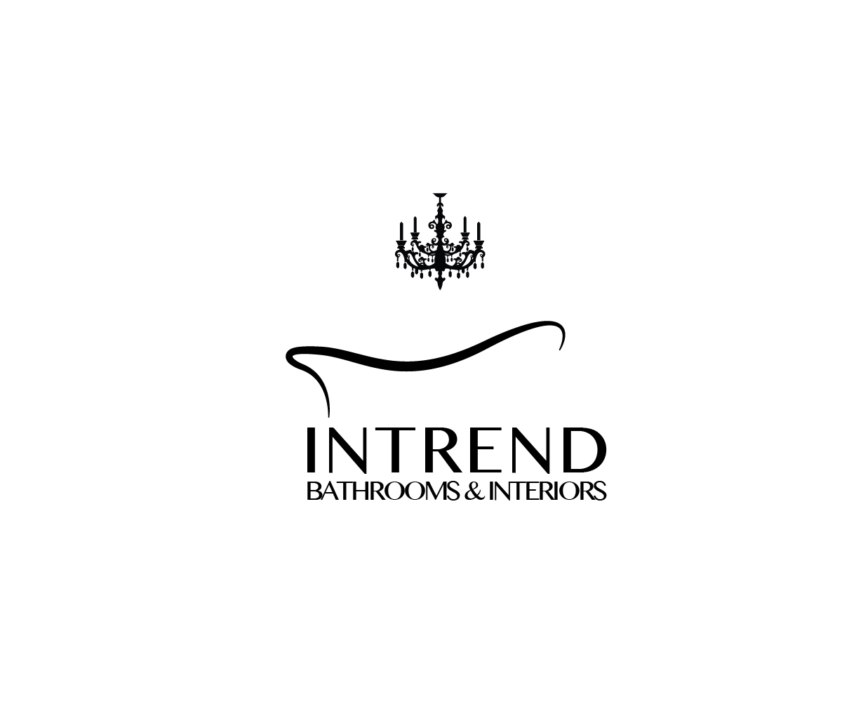 Modern, Elegant, It Company Logo Design for Intrend Bathrooms and ...