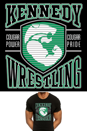 80 professional high school t shirt designs for a high for High school wrestling t shirt designs