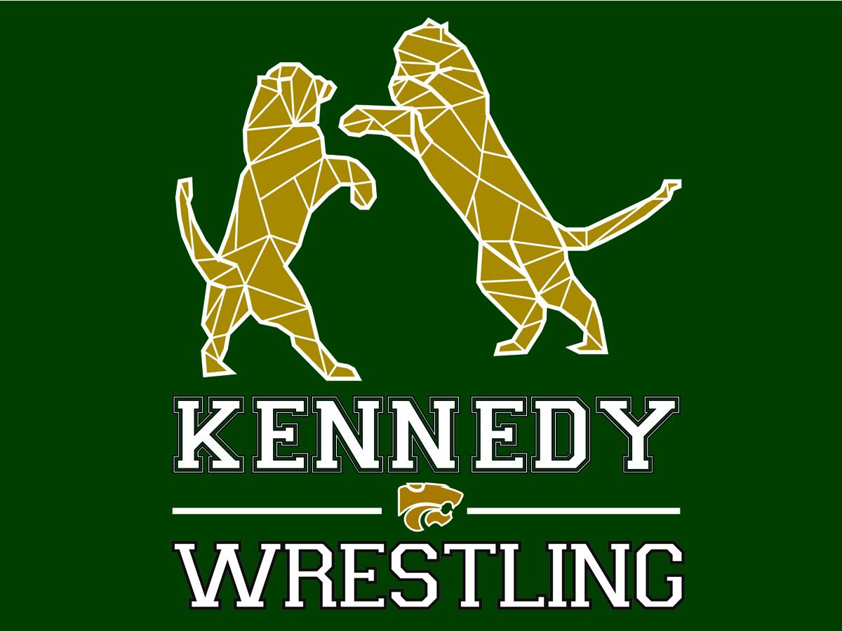 High school wrestling logo designs