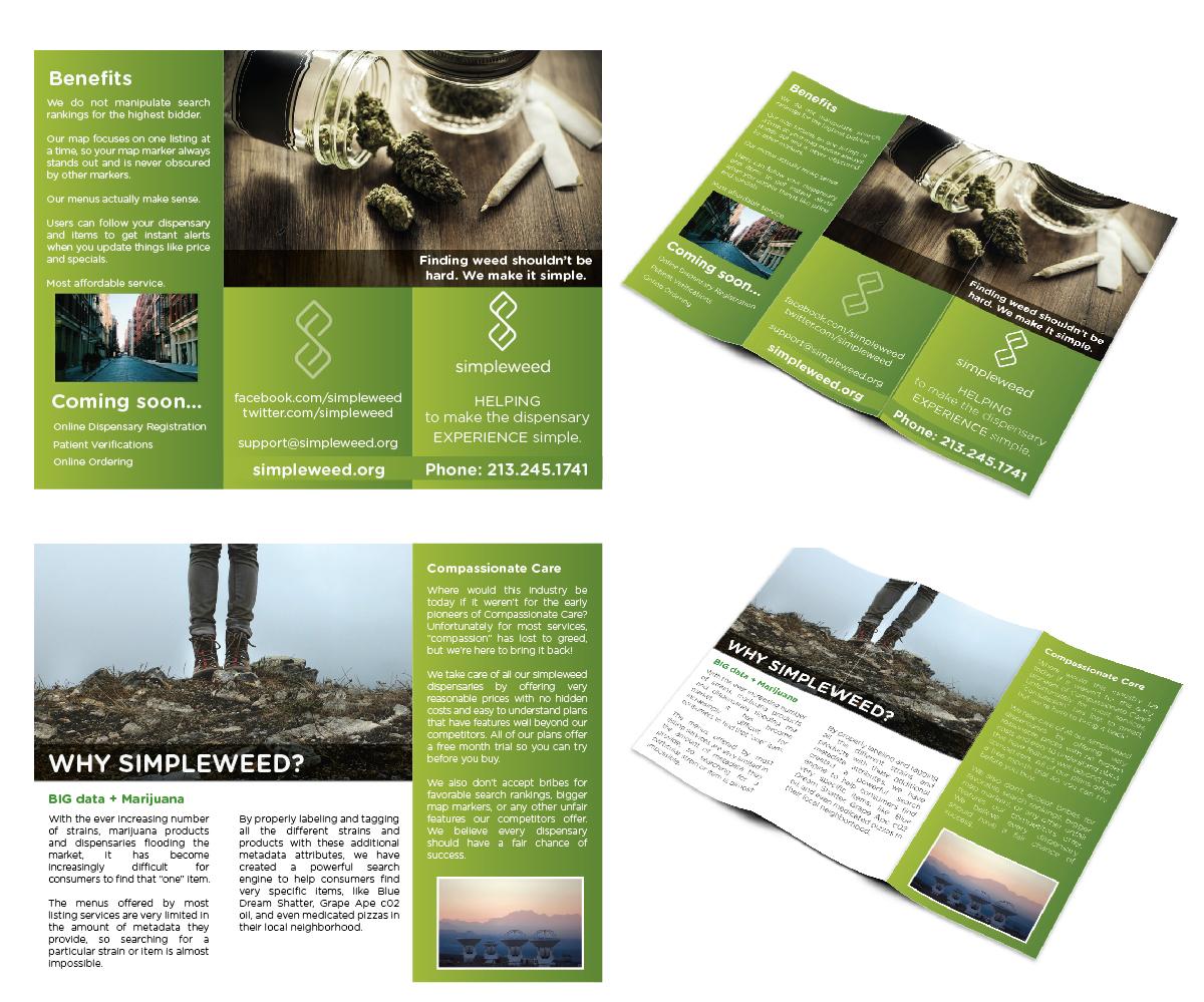 Elegant modern startup brochure design for a company by for Classy brochure design