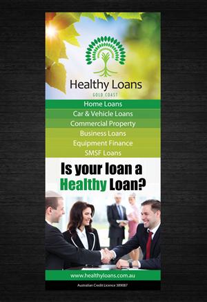 Trade Graphic Design For Healthy Loans Gold Coast By Dzatara Design 4808362