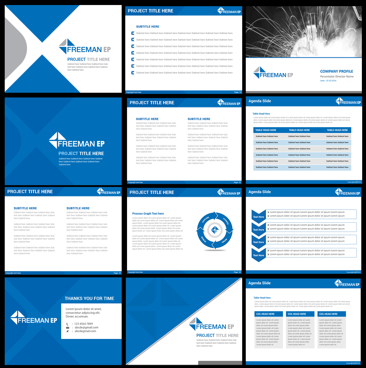 corporate powerpoint - gse.bookbinder.co, Presentation templates