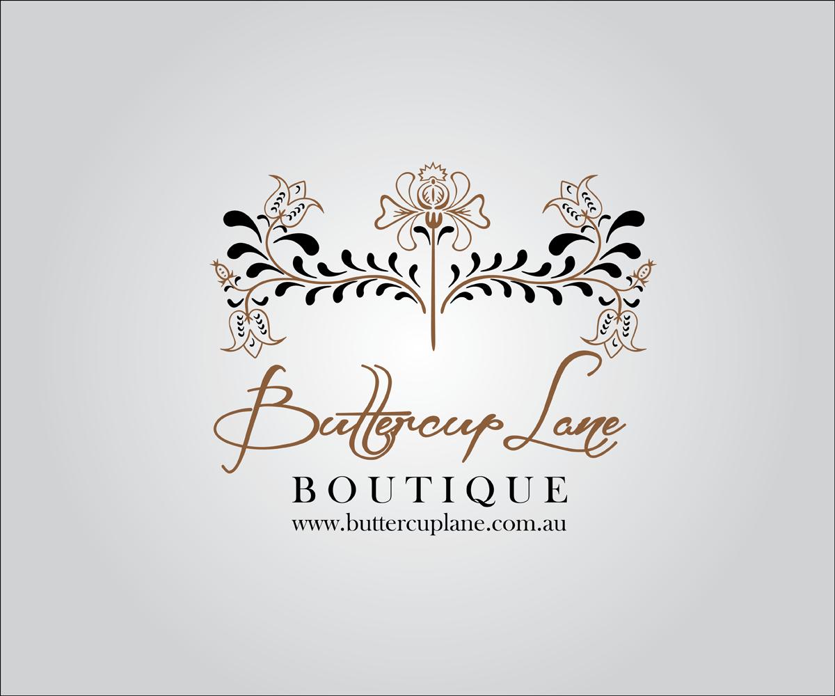 17 Elegant Feminine Packaging Logo Designs For Buttercup