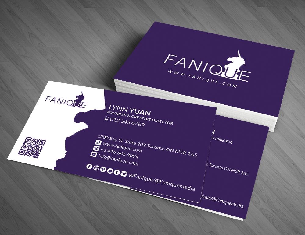 Business Card Design By Artman For Fanique