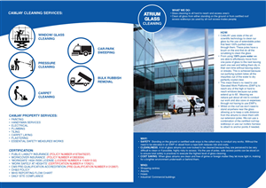 Brochure Design by diario passion - Property services company requires new brochure ...