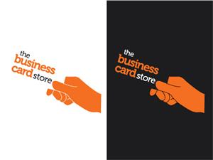Logo Design job – Business Card online store – Winning design by Elisha Leo