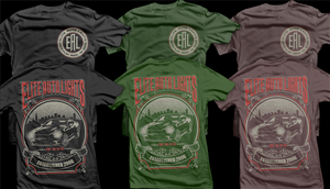 T-shirt Design by D'Mono - Automotive Light Company shirt - Think Hurley! ...
