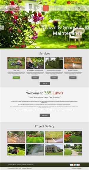 Web Design by iLibart - 365 Lawns