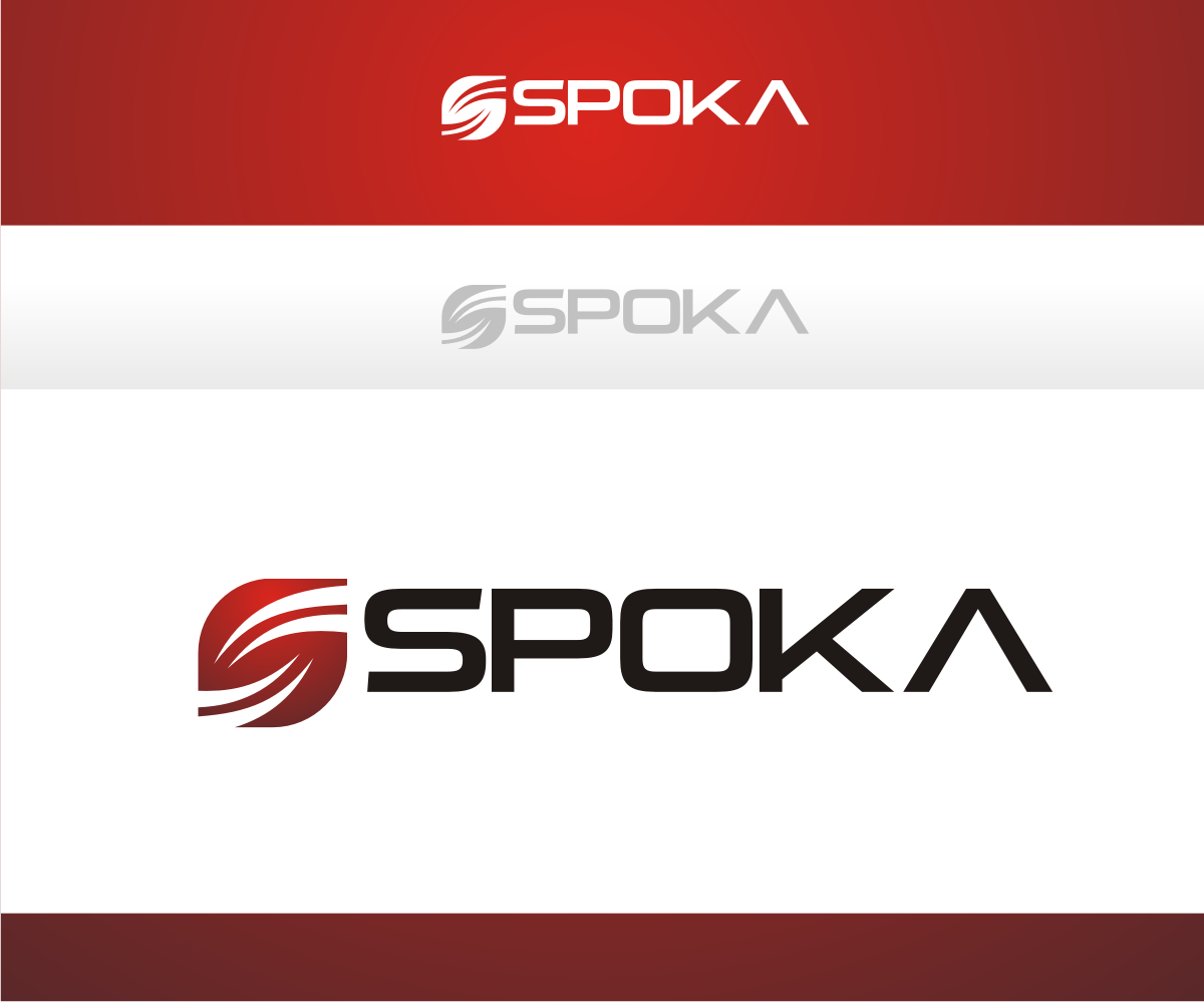 Store logo design for spoka by r i d design 4765135 for D for design