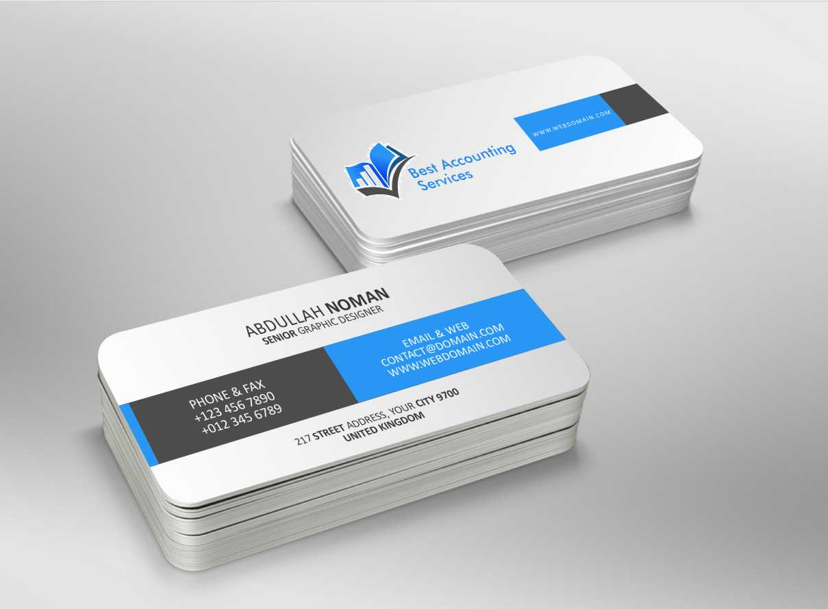 Beautiful best business card service image business card ideas accounting business card design for best accounting services pty ltd reheart Images
