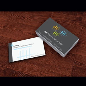 Accounting business card design for best accounting services pty ltd business card design by cerebrothers for best accounting services pty ltd design 4805669 reheart Image collections