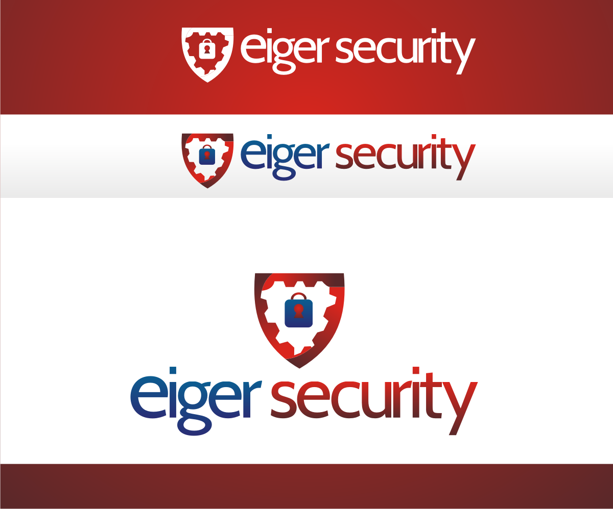 Security logo design for eiger security by r i d design for D for design