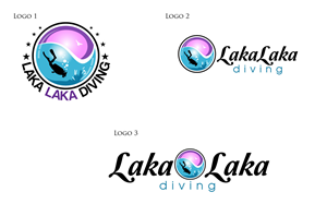 Logo Design by anushka_snigdha - LOGO for LakaLaka diving