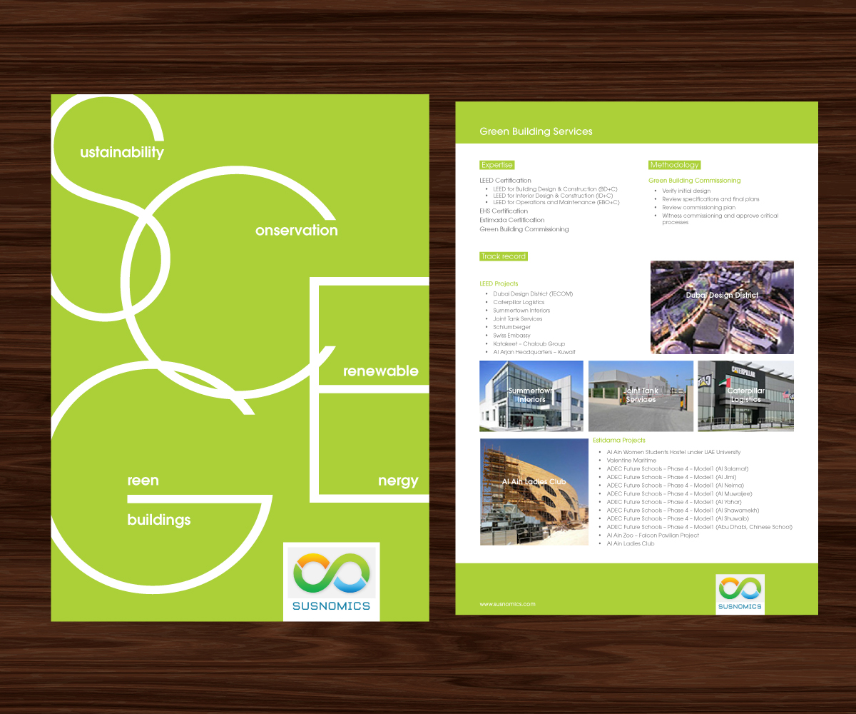 Upmarket modern brochure design for arjun vijayaragavan by augie brochure design by augie design for energy services company needs a new brochure design design 1betcityfo Image collections