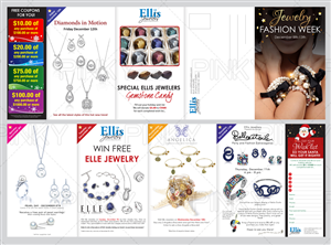 Print Design by Pinky  - Retail Jewelry Store-Direct Mail Brochure
