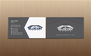 Stationery Design by pixelfountain - Elocon Homes needs a stationery design