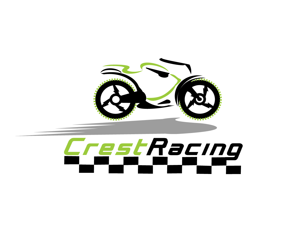 Elegant Playful Car Racing Logo Design For Crest By Mca Design 4766413
