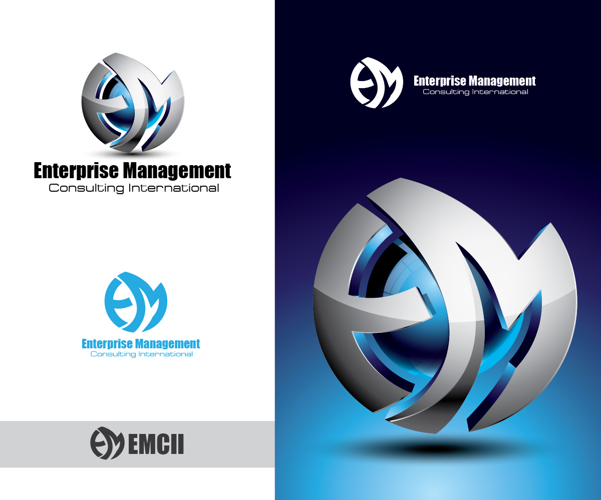 Profesional upmarket business management dise o de logo for Hispano international decor llc