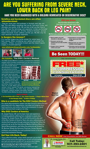 Flyer Design by NILBER ALLAN - Back Pain Flyer