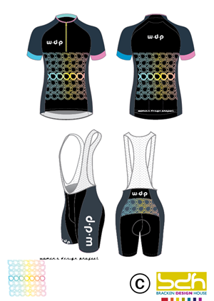 Graphic Design by brackendesignhouse - Australian Custom Cycle Clothing importer needs...