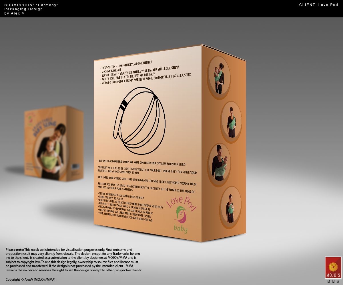 Upmarket, Modern, Baby Packaging Design for The Natural Ideas Group ...