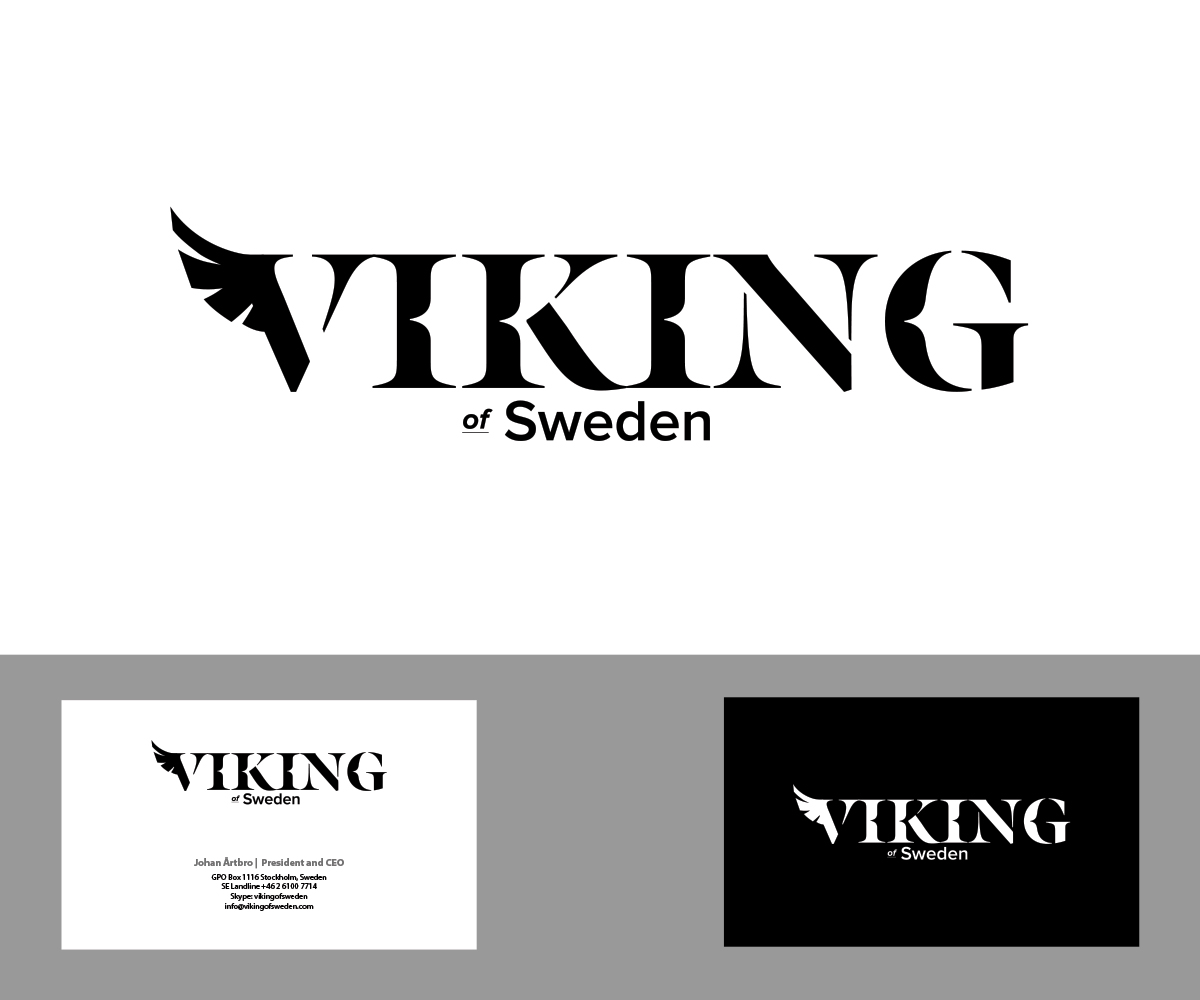 Sweden Viking Mobile Accessories Logo by Christian Champagne
