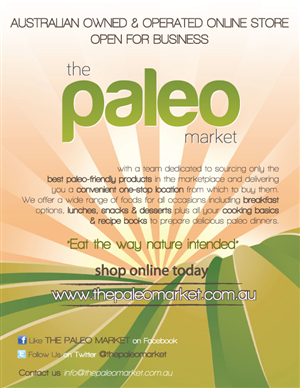 Poster Design by dragonfly - Poster for The Paleo Market