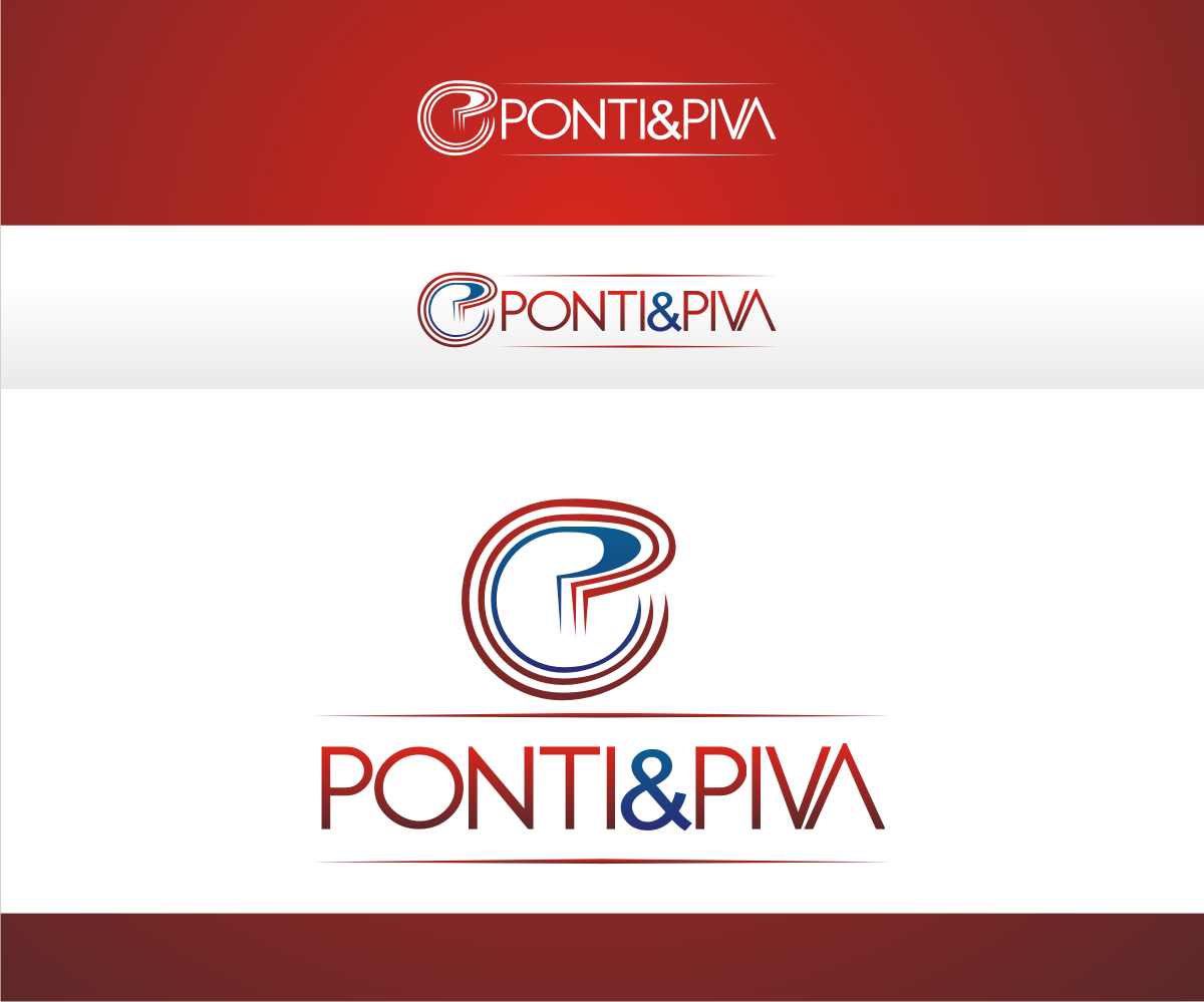 Logo design for ponti piva by r i d design 4810687 for D for design