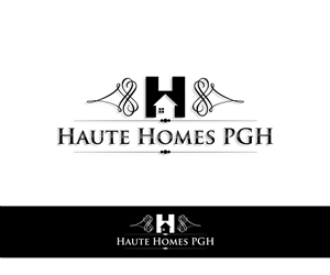 Logo Design (Design #4784066) submitted to Haute Homes PGH needs a logo  design