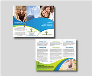 Brochure Design by mcoco - Alternative Therapy Service Needs Compelling Br ...