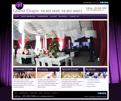 Need New Web Design For A Startup Designed 232758