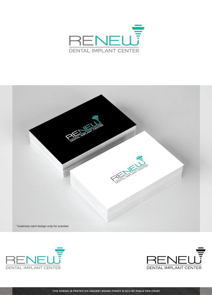 Dental Logo Logo Design Design Design 4848865 Submitted to Renew Dental Implant