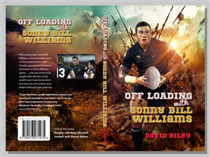 Book Cover Design by joerchw - Off Loading with Sonny Bill Williams