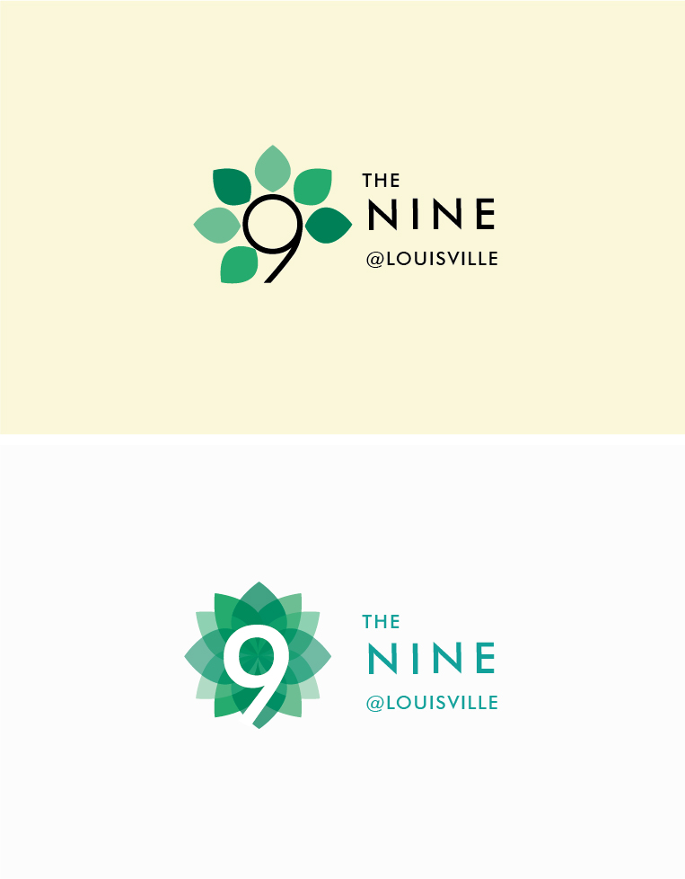 Apartment logo design for the nine louisville by for Apartment logo design