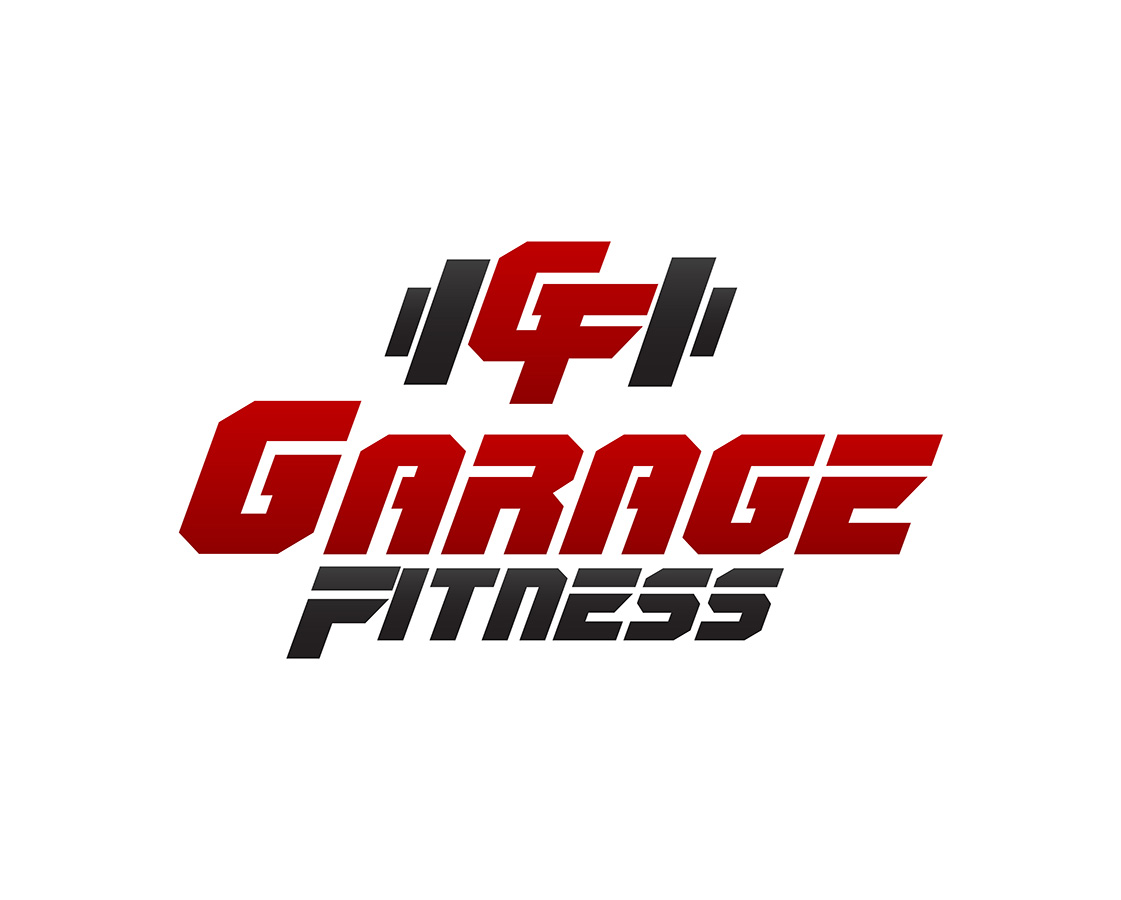 Upmarket bold training logo design for garage fitness by