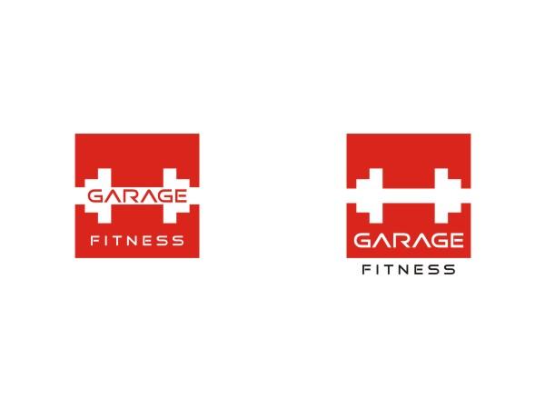 Exklusiv fett training logo design for garage fitness