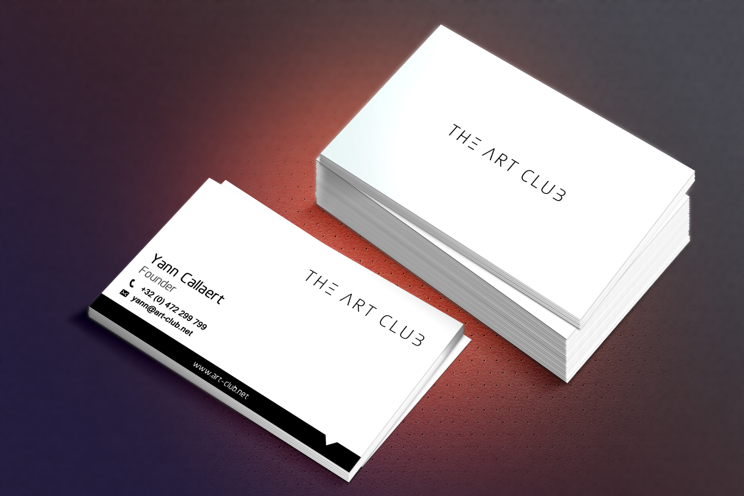 Upmarket serious business card design for caos vof by sandaruwan business card design by sandaruwan for online art gallery art management firm looking for a reheart Image collections
