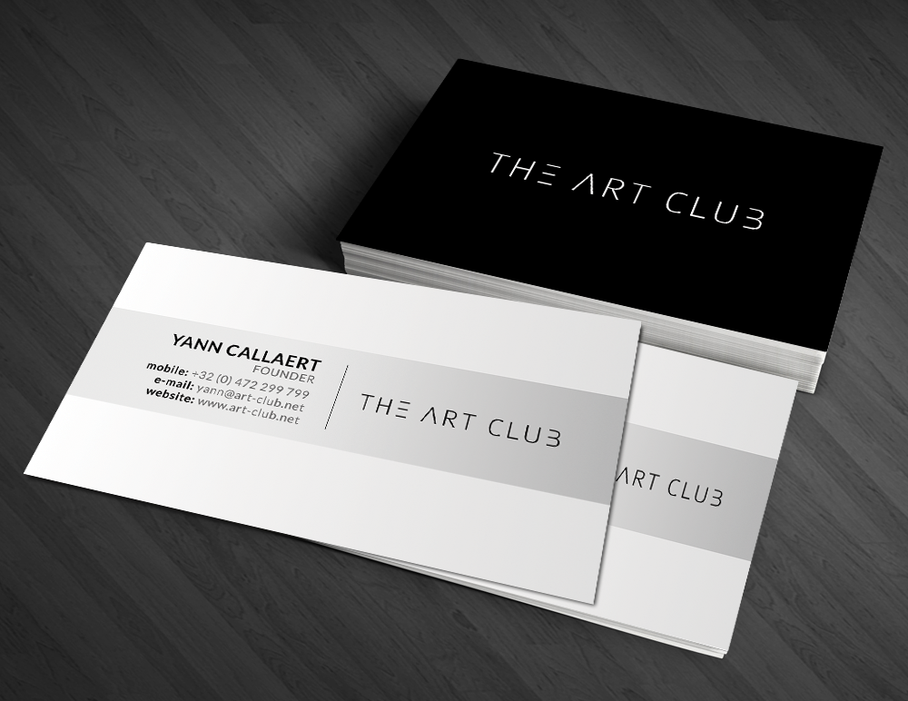 Upmarket, Serious, Artists Business Card Design for CAOS vof by ...